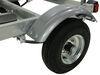 malone trailers roof rack on wheels xtralight trailer - galvanized steel 11' long 58 inch crossbars 400 lbs