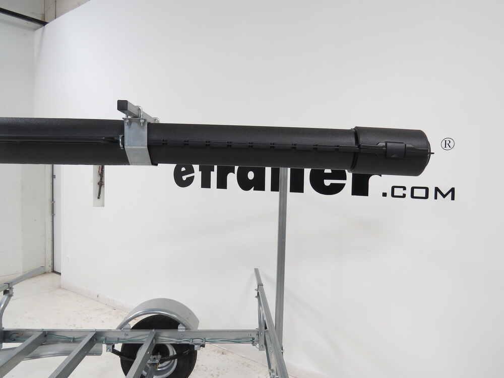 Fishing rod storage tube for malone megasport kayak for Fishing rod roof rack tube