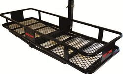 "19x58 Malone HitchKing2 Cargo Carrier for 2"" Hitches - Steel - Folding - 800 lbs"