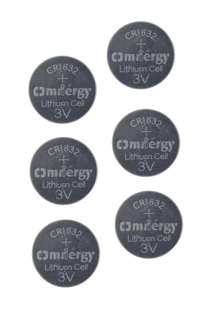 Replacement CR1632 Batteries for TireMinder TPMS - Qty 6 Batteries MRI-CR1632