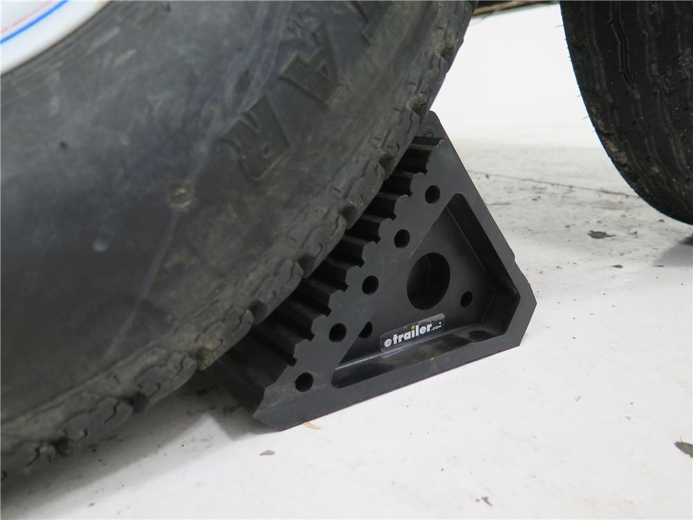 Trailer Wheel Chocks >> Compare Wheel Chock Polyurethane Vs Maxxtow Wheel Chock Etrailer Com