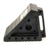 MaxxTow Wheel Chock with Handle - Solid Rubber Single Chock MT70072
