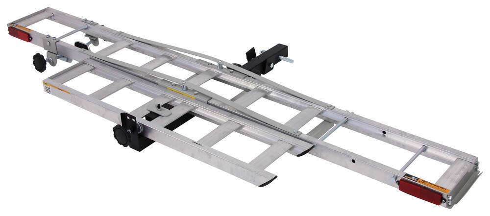 "MaxxTow MaxxHaul Aluminum Motorcycle Carrier for 2"" Hitches - 400 lbs Fits 2 Inch Hitch MT70101"