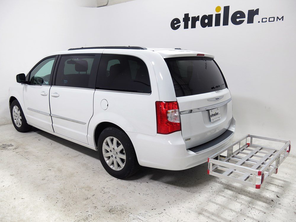 2015 chrysler town and country 20x47 maxxtow cargo carrier for 2 hitches aluminum 500 lbs. Black Bedroom Furniture Sets. Home Design Ideas