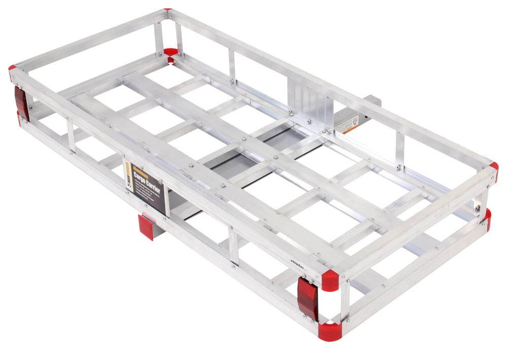 20x47 Maxxtow Cargo Carrier For 2 Quot Hitches Aluminum