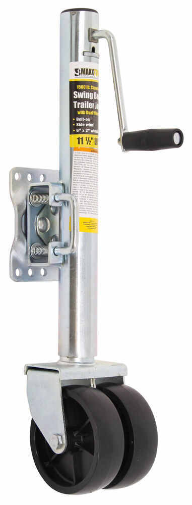 MT70149 - 1500 lbs MaxxTow Side Frame Mount Jack