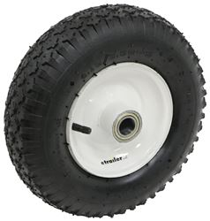 "Replacement Wheel for MaxxTow Trailer Dolly with 1-7/8"" Hitch Ball"