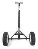 "MaxxTow Trailer Dolly with 1-7/8"" Hitch Ball - Black Powder Coated Steel - 600 lbs 1-7/8 Inch Ball MT70225"