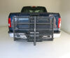 "MaxxTow 30x50 Wheelchair Carrier w/ 60"" Long Ramp - 2"" Hitches - Folding - Steel - 500 lbs Steel MT70260 on 2016 Ford F-150"