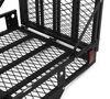 "MaxxTow 30x50 Wheelchair Carrier w/ 60"" Long Ramp - 2"" Hitches - Folding - Steel - 500 lbs Heavy Duty MT70260"