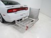 MaxxTow 27 Inch Wide Hitch Cargo Carrier - MT70275 on 2012 Dodge Charger