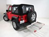 MaxxTow Class III,Class IV Hitch Cargo Carrier - MT70422 on 2016 Jeep Wrangler