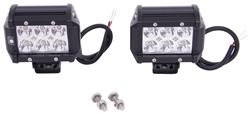 MaxxTow Off-Road Lights - LED - 36 Watts - Wide Spot Beam - Qty 2