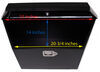 MT80349 - Small Capacity MaxxTow A-Frame Trailer Toolbox