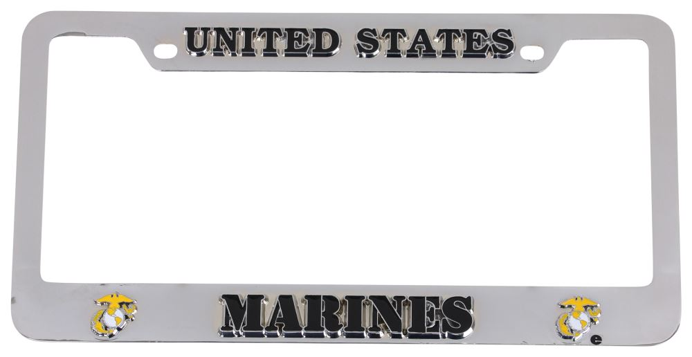 Siskiyou Chrome License Plates and Frames - MTF602