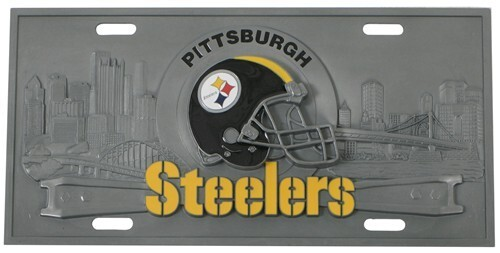 Pittsburgh Steelers Nfl Sport Plate 3d License Plate