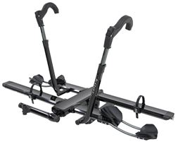 "Kuat NV 2.0 2-Bike Platform Rack - 2"" Hitches - Aluminum - Tilting - Metallic Black"