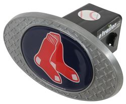 "Boston Red Sox 2"" MLB Trailer Hitch Receiver Cover - Zinc"