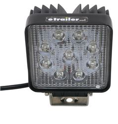 "Luma LED Work Light - 30-Degree Flood Beam - 27 Watts - 4"" Square"