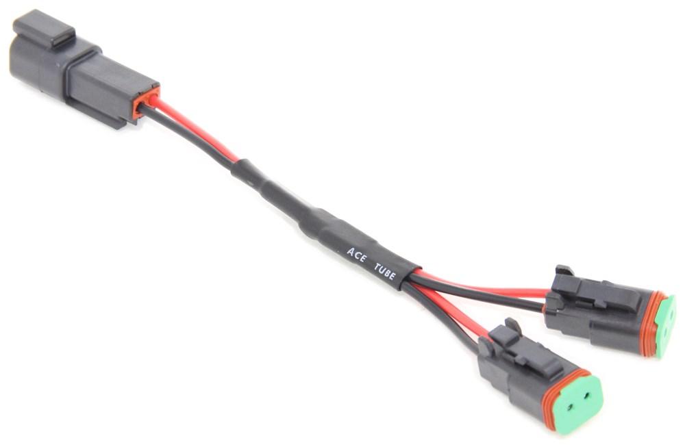 compare y adapter splitter vs wiring harness etrailer com rh origin etrailer com x ray vision wiring harness Trailer Wiring Harness