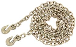 "Glacier Transport Chain w/ Grab Hooks - 1/2"" Diameter x 20' Long - 11,300 lbs"