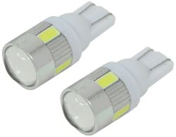 Putco Plasma 194 LED Lights - 360 Degree - Cool White - 2 Pack