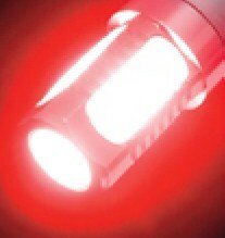 Putco Plasma 1156 LED Lights - 360 Degree - Red - 2 Pack