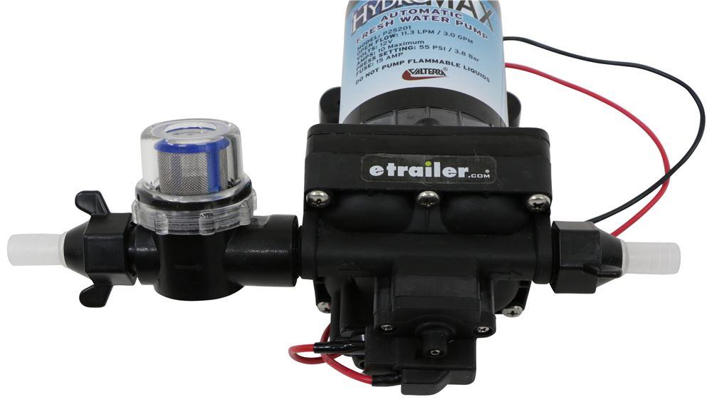 HydroMax RV Fresh Water Pump - 12 Volt - 3 Gallons Per Minute - 55