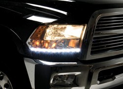 Putco G3 LED Headlamp Day Liners - 1 Pair - Polished Aluminum