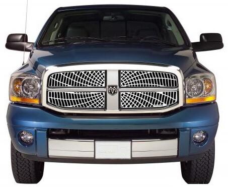 2008 dodge ram pickup custom grilles putco. Black Bedroom Furniture Sets. Home Design Ideas