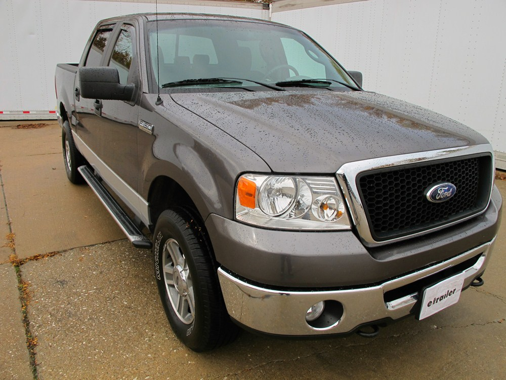 2007 ford f 150 putco element in channel window visors tinted 4 piece. Black Bedroom Furniture Sets. Home Design Ideas