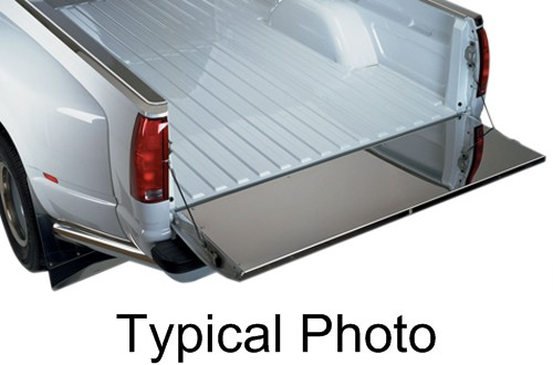 Putco full coverage tailgate protector stainless steel