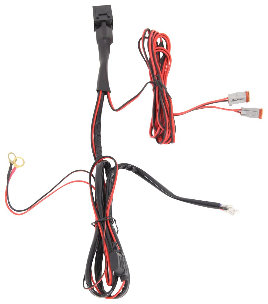 p8769f - 4 inch long putco accessories and parts · dual wiring harness