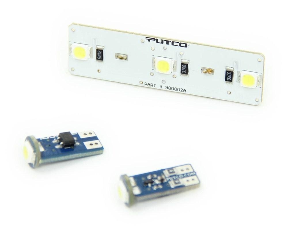 Putco Pure Premium Led Dome Light Kit Putco Vehicle Lights P980044