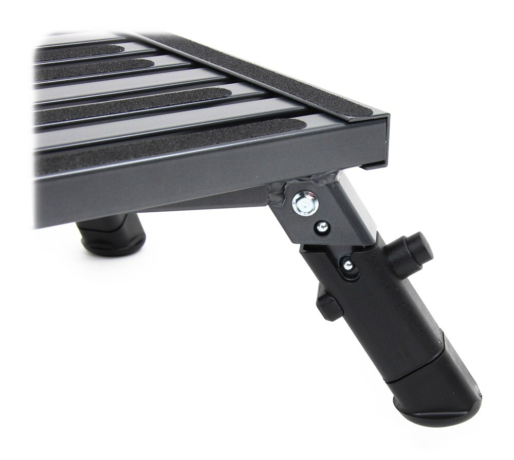 Adjustable Height Folding Platform Step Aluminum 19