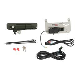 Pop & Lock Custom Tailgate Handle - Power Lock and Manual Lock - Spruce Mica