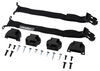 bak industries accessories and parts tonneau covers buckles straps buckle strap conversion kit for bakflip truck bed