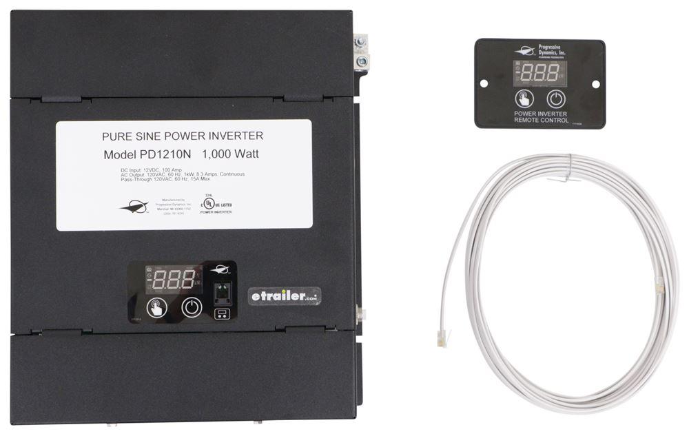 Progressive Dynamics Pure Sine Wave Inverter w/ Transfer Switch