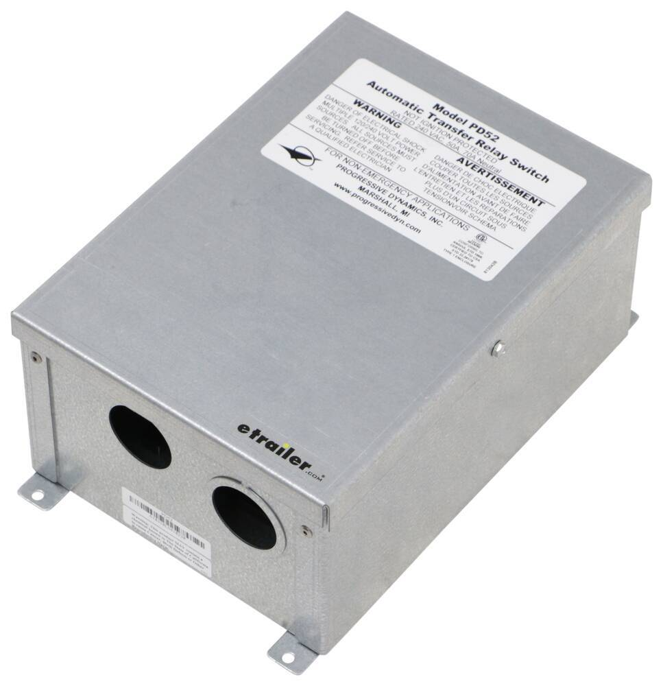 Accessories and Parts PD52 - Transfer Switch - Progressive Dynamics