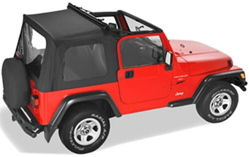 Pavement Ends Flip Top Soft Top for Jeep - w/ Sunroof and ...