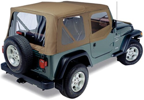 2001 jeep wrangler pavement ends replay soft top fabric for jeep soft upper doors and clear. Black Bedroom Furniture Sets. Home Design Ideas