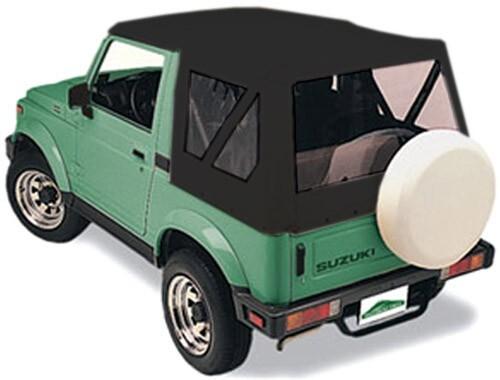 Pavement Ends Suzuki Soft Top