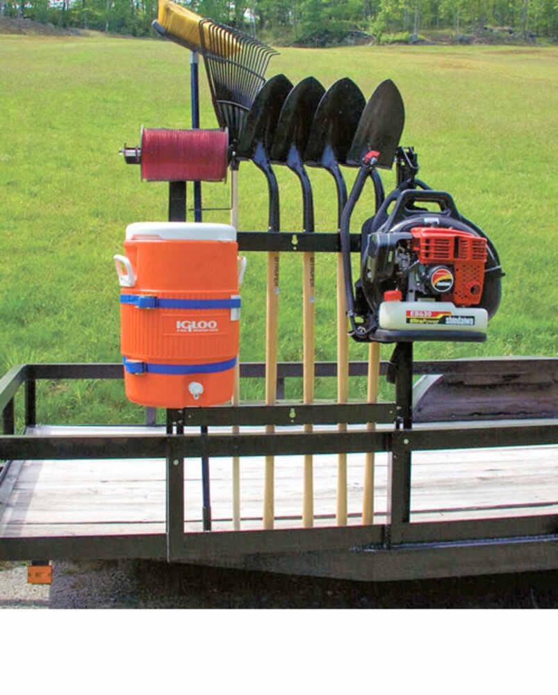 Shovel Rack For Pack Em Racks Open Utility Trailers