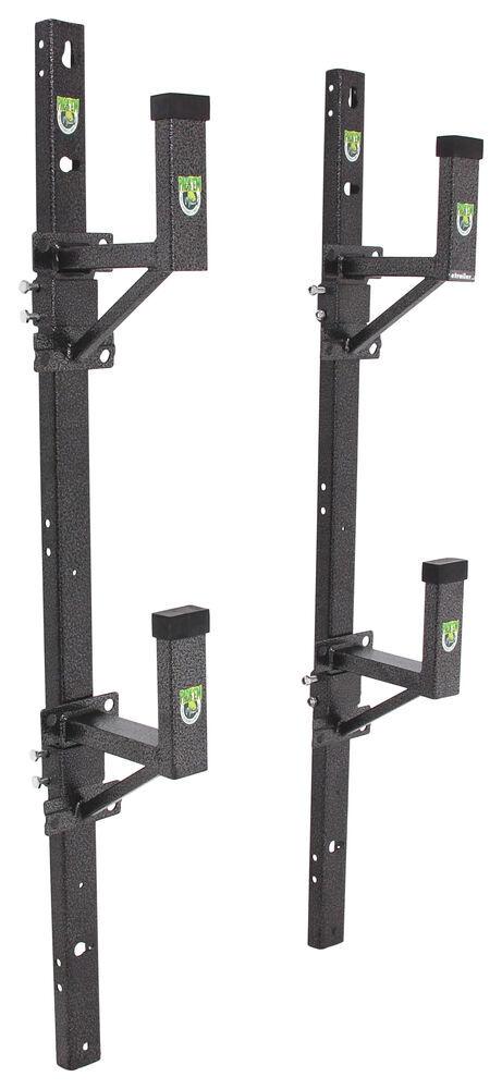 Pack 39 Em Ladder Rack For Exterior Side Wall Of Enclosed Trailer 2 Ladder Packem Trailer Cargo