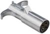 pollak wiring  4 round heavy-duty 4-pole pin trailer connector - metal end