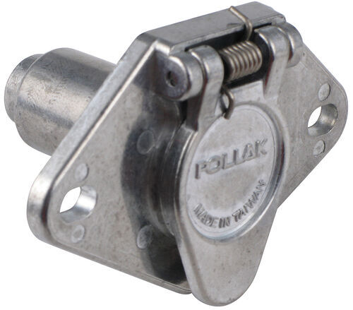 Wiring Trailer Connectors Vehicle End Connector 6 Round Plug Only