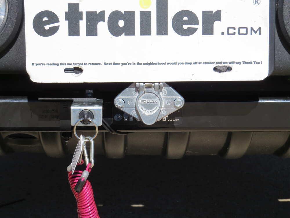 pollak 6-pole, round pin, trailer wiring socket - vehicle end pollak wiring  pk11609