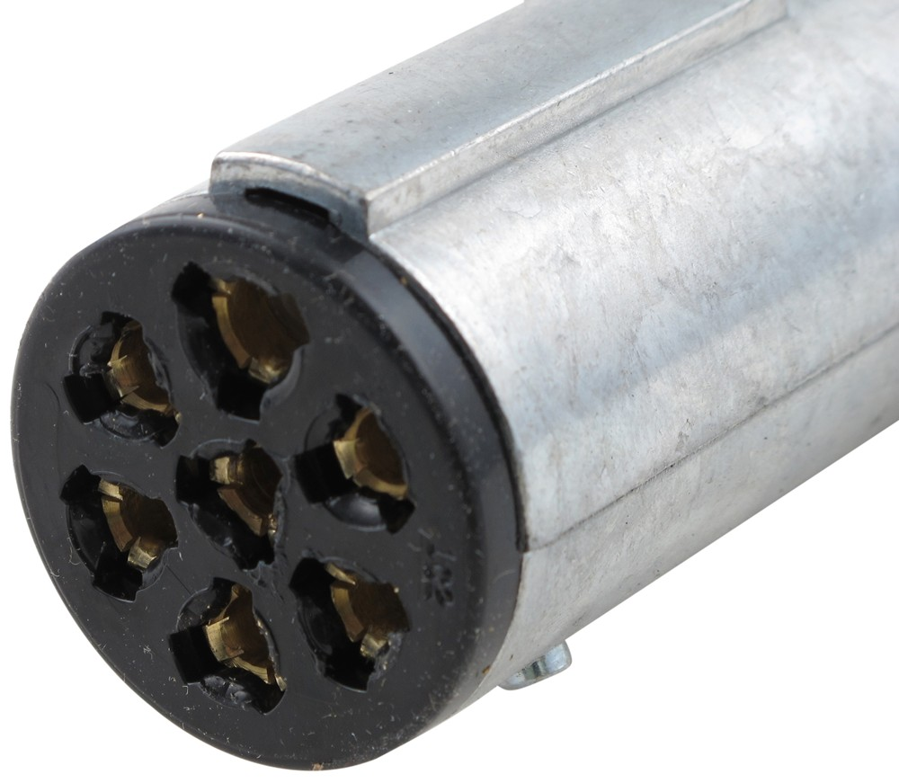 Compare Pollak Heavy Duty Vs Hd 7 Pole Trailer Wiring Harness Connector Pk11702 Round Connectors