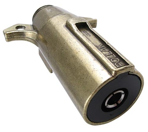 compare pollak single pole vs 2 pole socket connector etrailer com rh origin etrailer com 6 Pin Trailer Connector Cole Hersee Trailer Connector