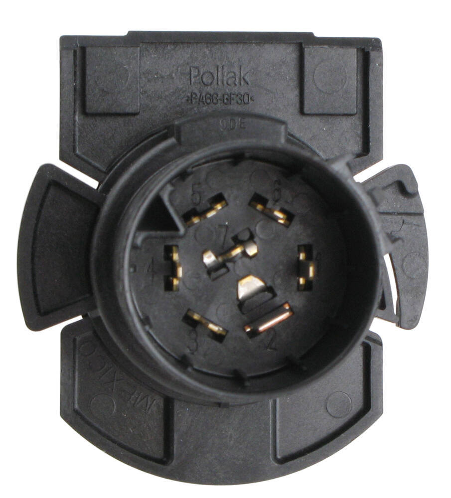 Twist-in, 7-Pole, RV-Style Trailer Connector for Chevy and GMC